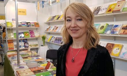 Vilma Urbanavičienė: kiekviena išleista knyga man kaip kūdikis, kaip grožis ir gyva sąmonė